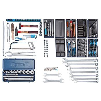 Werkzeugsortiment NFZ 158-tlg