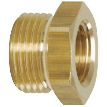 Messing-Reduziernippel, 19x16mm 515.3383