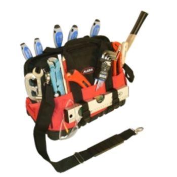 Werkzeugtasche TGU aus Polytex, mit Gummiboden, le er