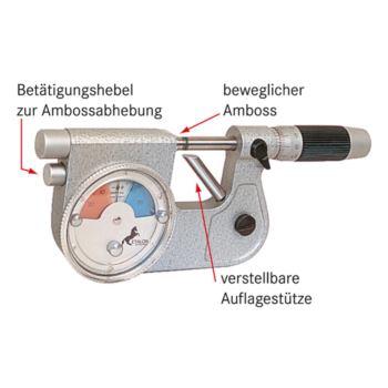 MICRO Feinzeiger-Messschraube 0-25 mm Skalenteilun