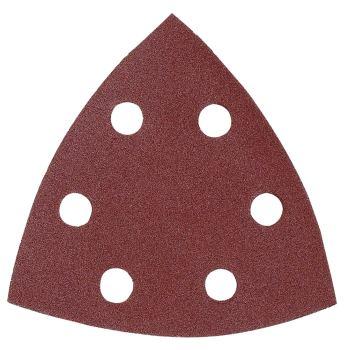 Dreieckschleifpapier Klett Korn 40