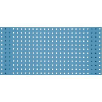 Lochplatte-lichtblau, 2000x450mm