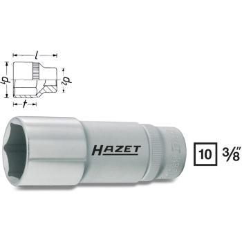 """Steckschlüsseleinsatz 21 mm 3/8"""" Zoll DIN 3124 lang"""