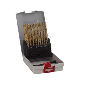 Metallbohrer-Set HSS-TiN (Titan-Beschichtung), Pro