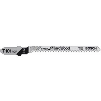 Stichsägeblatt T 101 AOF, Clean for Hard Wood, 3er