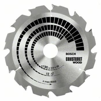 Kreissägeblatt Construct Wood, 184 x 16 x 2,6 mm,