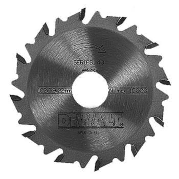 HM-Nutfräser (für Lamellendübelfräsen)/ DT1306 Blattstärke: 4.0mm / Bohrung: 22mm / Zähnezahl: 12