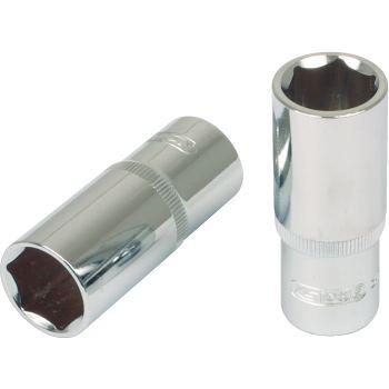 "3/8"" CHROMEplus® Sechskant-Stecknuss, lang, 22mm 9"