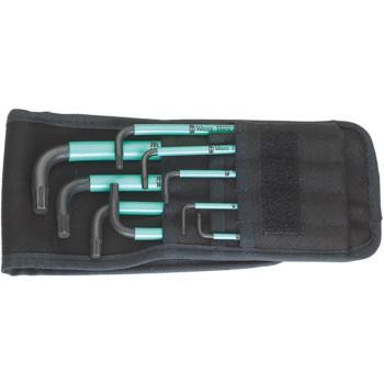 950 SPKL/9 SZ Winkelschlüsselsatz, zöllig, BlackLa ser