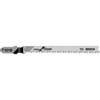 Stichsägeblatt T 101 B, Clean for Wood, 3er-Pack