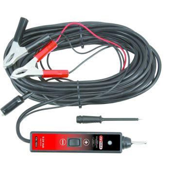 Funktionsprüflampe 6-24V DC mit 25 Meter Kabel 150