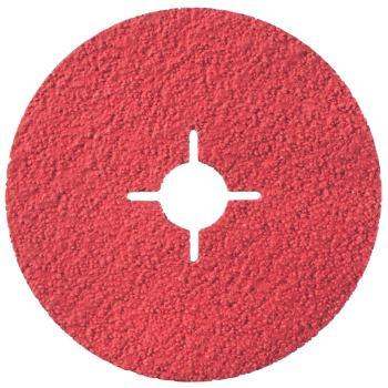 Fiberscheibe 125 mm P 80, Keramikkorn