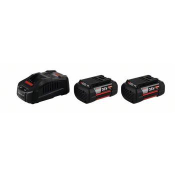 Akku-Set Starter-Set, 2 x GBA 36 V 4,0 Ah H-C + GAL 3680 CV