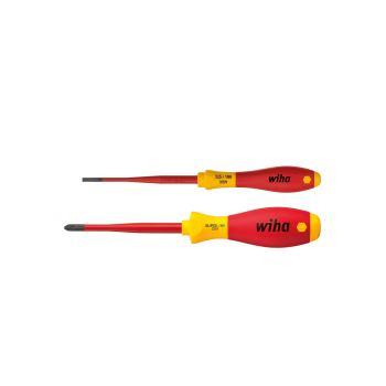 SoftFinish® electric slimFix Schlitz/ Xeno-Schraub endrehersatz, 2-tlg.