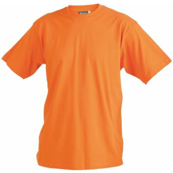 T-Shirt orange Gr. 4XL