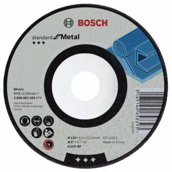 Schruppscheibe gekröpft, Standard for Metal A 24 P