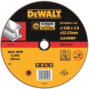 EXTREME Metall-Trennscheibe - flach DT43601