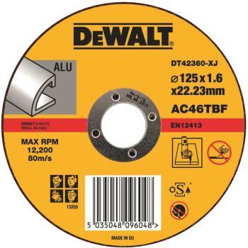 Standard Aluminium Trennscheibe - flach DT42360