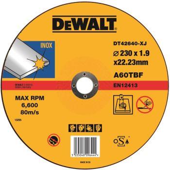Standard Edelstahl-Trennscheibe - flach DT42640