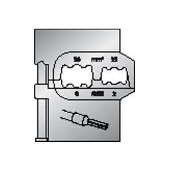 Modul-Einsatz für Aderendhülsen 50/35mm