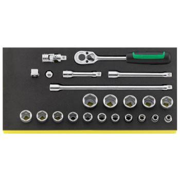 """96830218 - 3/8"""" Werkzeuge in TCS Einlage"""