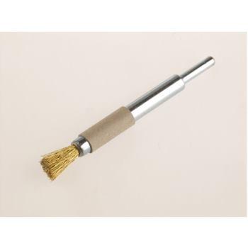 Pinselbürsten mit 6 mm Schaft Drm 12 mm lang 120 mm Messingdraht MES gew. 0,30 mm hoch 20 mm