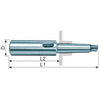 Verlängerungshülse MK 2/2 DIN 2187 gehärtet