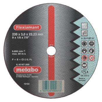 Flexiamant 115x2,5x22,23 Inox, Trennscheibe, gekrö