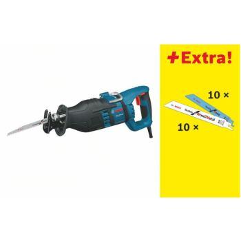 Säbelsäge GSA 1300 PCE mit 20 Säbelsägeblättern