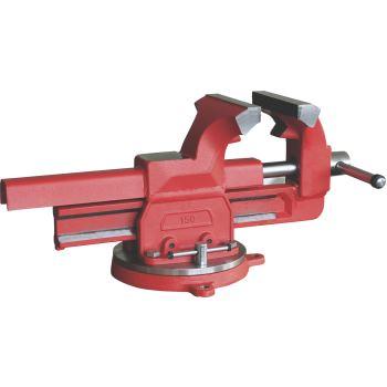 Schraubstock mit Rundteller, 100 mm