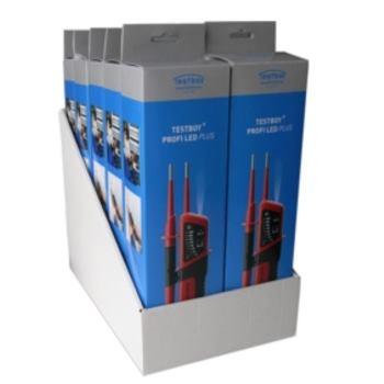 Display Spannungsprüfer Testboy® Profi LED Plus 6- 1000V AC/DC