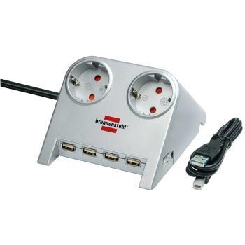 Desktop-Power-Plus mit USB-2.0-Hub mit 5 V-Buchse
