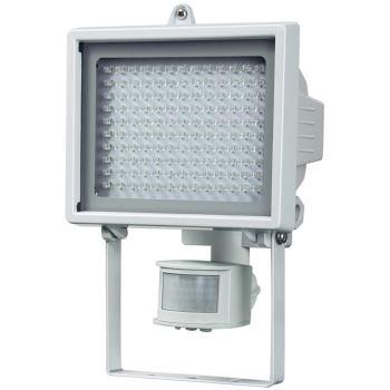 LED-Leuchte L130 PIR IP44 mit Infrarot-Bewegungsmelder 7,9W 560lm 130xLED, Energieeffizienzklasse A