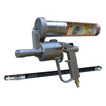 Lube-Shuttle® Einhand-Druckluft-Fettpresse DF-LS m