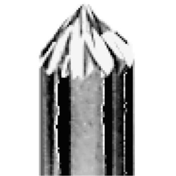Hartmetall-Frässtift 6 mm TCM 0606 Zahnung 63