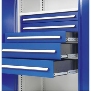 Schublade Höhe 125 mm/Breite 500 mm RAL 5010 enzia
