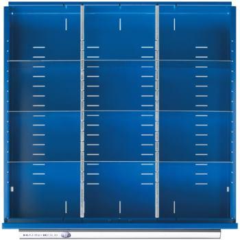 Schubladen-Einteilung 1/3 Teilung