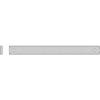 Karosseriefeilenblatt 300 mm Hieblänge Hieb 2