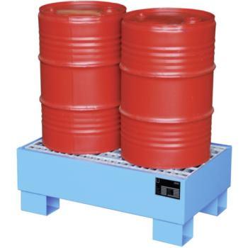 Auffangwanne feuerverzinkt für 2 Fässer mit 60 l L
