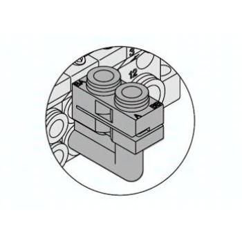 VVQ1000-F-LC6 SMC 90 Grad Steckverbinder