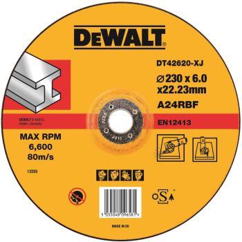 Metall-Schruppscheibe - gekröpft DT42620