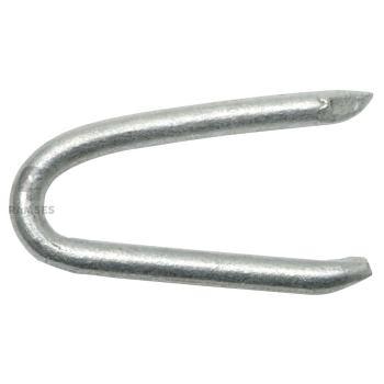 Krampen DIN 1159 Stahl feuerverzinkt Weite 4.0 mm 2.0x20 1 kg