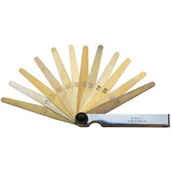 Fühlerlehren antimagnetisch 12 Blatt von 0,10- 0,8