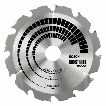Kreissägeblatt Construct Wood, 210 x 30 x 2,8 mm,