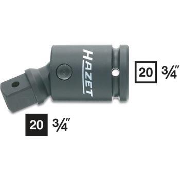 Kraft-Gelenkstück 1006S · 4kt. hohl 20mm (3/4Zoll)· 4kt. massiv 20 mm (3/4 Zoll) · l: 99 mm