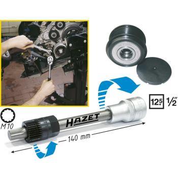 Keil(rippen)riemenscheibe-Werkzeug 4641/24kt. hohl 12,5 mm (1/2 Zoll) · Innen Vielzahn XZN