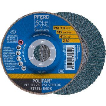 POLIFAN®-Fächerscheibe PFF 115 Z 80 PSF/22,23