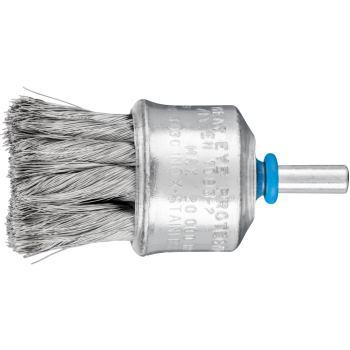 Pinselbürste mit Schaft, gezopft PBG 3030/6 INOX 0,15