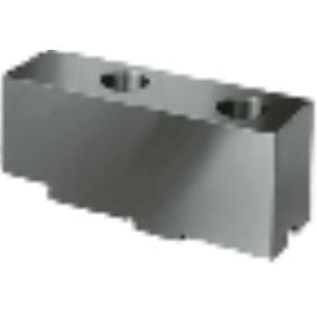 Aufsatzbacke AB in Sonderlänge, Größe 350+400, 4-Backensatz, ungehärtet, 16MnCr5