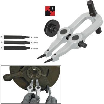 Sicherungsring-Werkzeug-Satz, 7-teilig